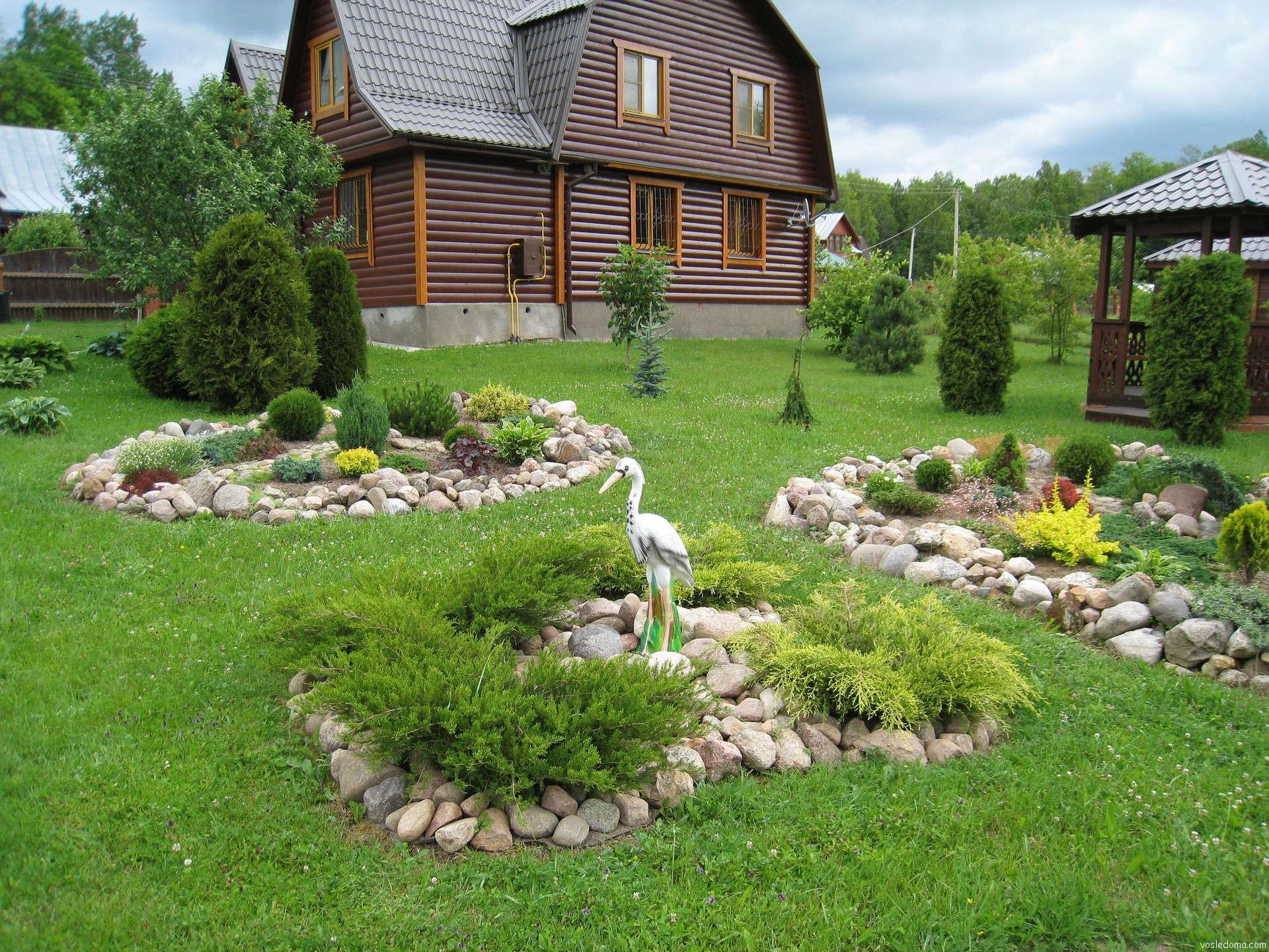 Дизайн дачных домов и дачных участков своими руками