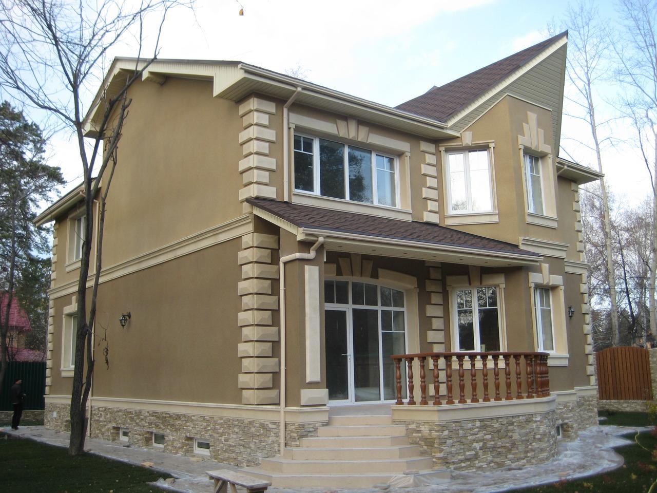 Цены на наружную отделку фасадов
