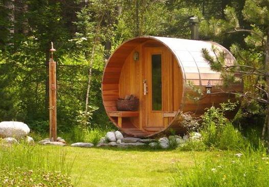 Место для бани на даче