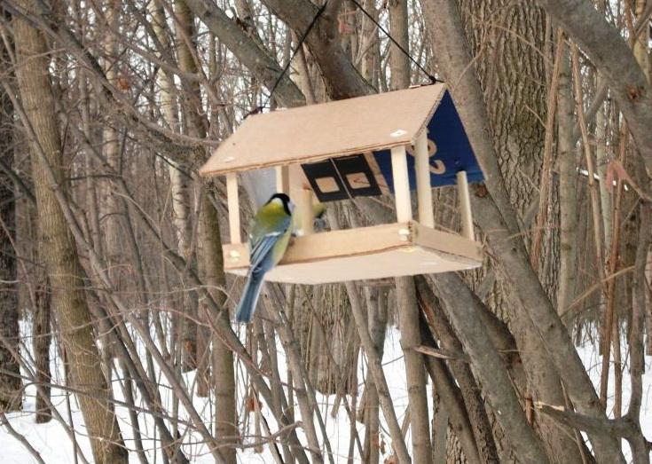 садовая кормушка для птиц