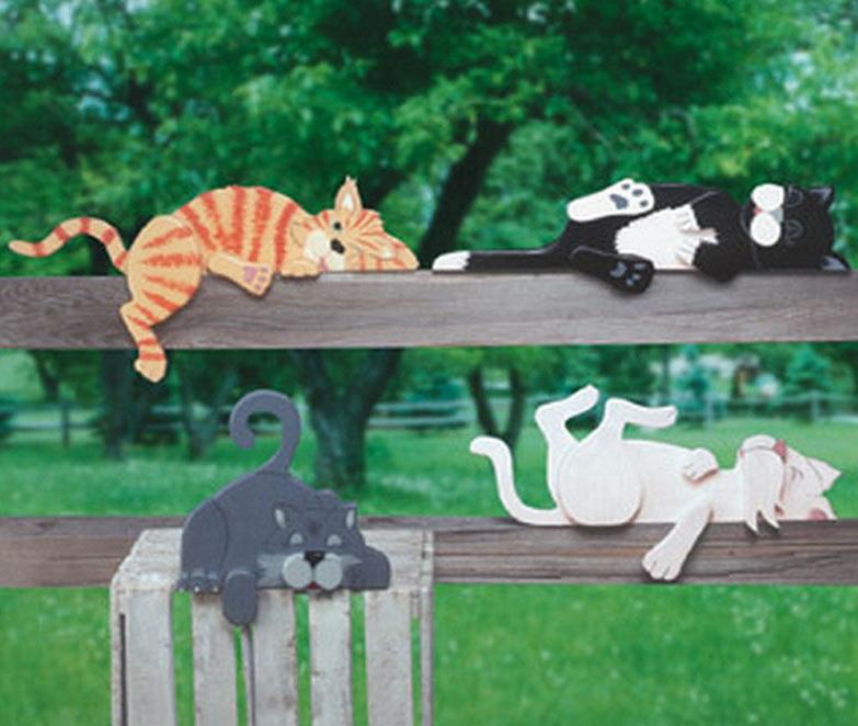 коты на заборе