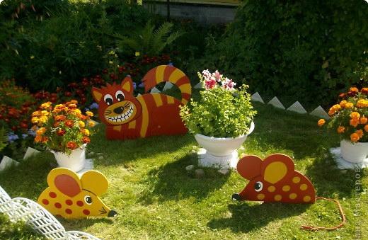 садовые фигурки из фанеры