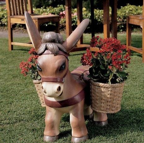 Садовые фигурки своими руками