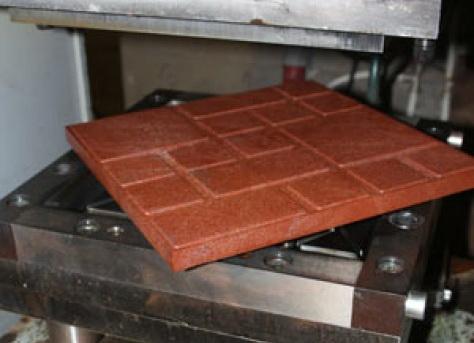полимерно песчаная тротуарная плитка производство