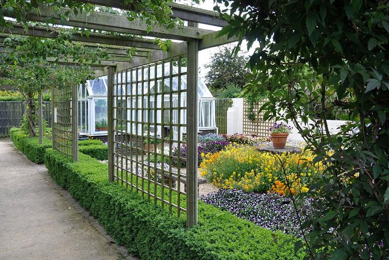 ландшафтный дизайн огорода своими руками